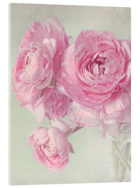 Acrylic glass  pink spring - Lizzy Pe