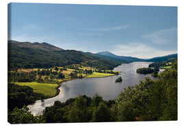 Canvas print  Scotland - Queen's View at Loch Tummel - Reiner Würz