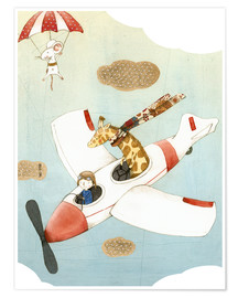 Premium poster  Fly - Judith Loske