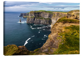 Canvas print  Cliffs of Moher, Ireland - Jürgen Klust