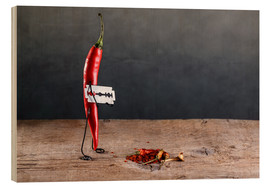 Wood  Simple Things - Sharp Chili Pepper - Nailia Schwarz