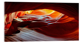 Acrylic print  Antelope Canyon USA - Michael Rucker