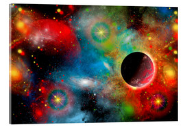 Acrylic print  colorful universe - Mark Stevenson