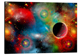 Aluminium print  colorful universe - Mark Stevenson