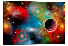 Canvas print  colorful universe - Mark Stevenson