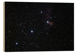 Wood print  Nebula in Orion's belt - Luis Argerich
