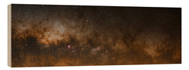 Wood print  Milky Way - Luis Argerich
