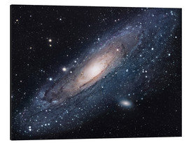 Aluminium print  The andromeda galaxy - Robert Gendler