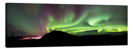 Canvas print  Aurora Borealis over Gray Peak - Joseph Bradley