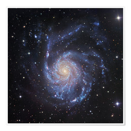 Premium poster M101, The Pinwheel Galaxy in Ursa Major