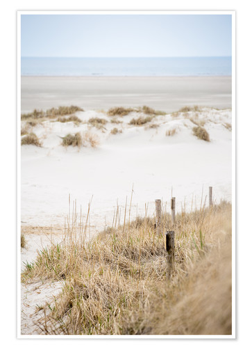 Premium poster German sea (St. Peter Ording)