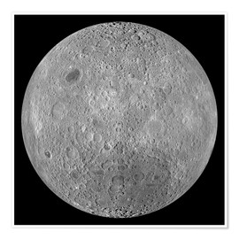 Poster  The Far Side of the Moon - Stocktrek Images