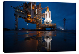Canvas  Space shuttle Atlantis - Stocktrek Images