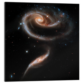 Acrylic print  Galaxies in Andromeda - Stocktrek Images