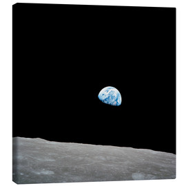 Canvas print  Earth from the Moon - Stocktrek Images