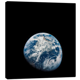 Canvas print  Earth from the viewpoint of Apollo 8 - Stocktrek Images