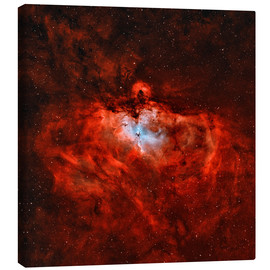 Canvas print  The Eagle Nebula in the constellation Serpens - Rolf Geissinger