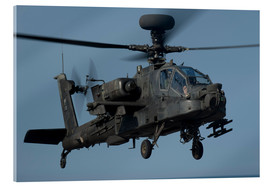 Acrylic print  A U.S. Army AH-64 Apache helicopter. - Stocktrek Images