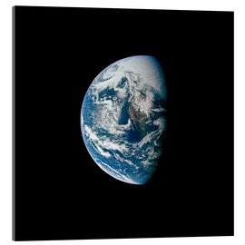 Acrylic print  View of the Earth from the spacecraft Apollo 13 - Stocktrek Images