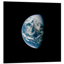 Alu-Dibond  View of the Earth from the spacecraft Apollo 13 - Stocktrek Images