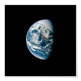 Premium poster View of the Earth from the spacecraft Apollo 13