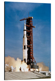 Aluminium print  Apollo 11 taking off from Kennedy Space Center - Stocktrek Images