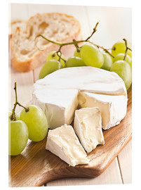 Acrylic glass  French soft cheese - Edith Albuschat