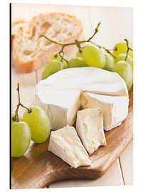 Alu-Dibond  French soft cheese - Edith Albuschat