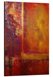 John Lang Art Gallery - Color Fields 'Red Orange Yellow Gold'