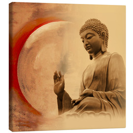 Canvas  Buddha III - Christine Ganz