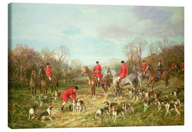 Canvas print  The Meet - Hardy Heywood