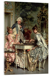 Acrylic print  The Game of Chess - Arturo Ricci