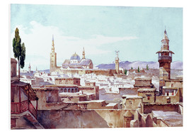 Foam board print  A view of Damascus - Charles Pierron