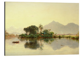 Aluminium print  On the Orinoco, Venezuela, 1857 - Louis Remy Mignot