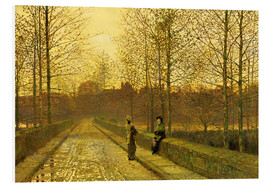 Forex  In the Golden Gloaming, 1883 - John Atkinson Grimshaw
