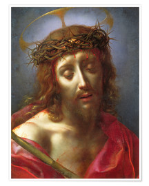 Premium poster Christ as a man of grief