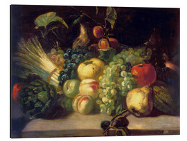 Theodore Gericault - Still life with fruits and vegetables
