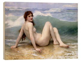 Wood  The Wave - William Adolphe Bouguereau
