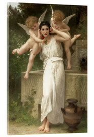 Acrylic print  Youth - William Adolphe Bouguereau