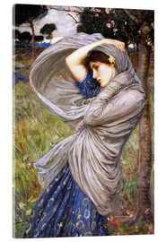 Acrylic print  Boreas - John William Waterhouse
