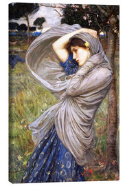 Canvas print  Boreas - John William Waterhouse