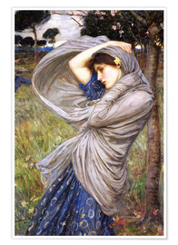 Premium poster  Boreas - John William Waterhouse