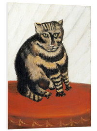 Foam board print  The Tabby - Henri Rousseau