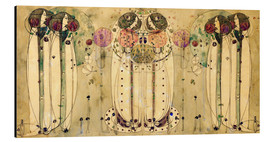 Alu-Dibond  The Wassail - Charles Rennie Mackintosh