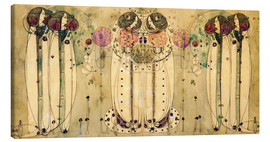 Canvas  The Wassail - Charles Rennie Mackintosh
