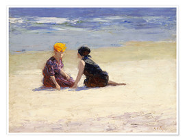 Poster  Confidences - Edward Henry Potthast