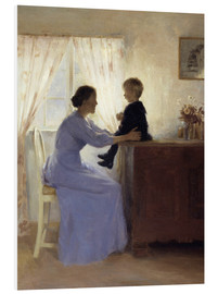 Foam board print  Mother and Child - Peter Vilhelm Ilsted