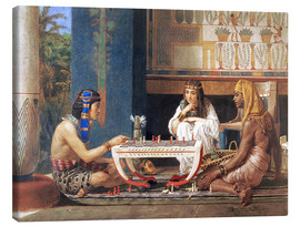 Canvas print  Egyptian Chess Players - Lawrence Alma-Tadema