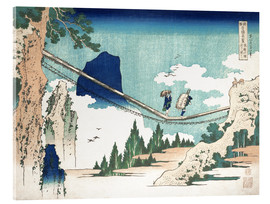 Acrylic print  Minister Toru, from the series Poems of China and Japan - Katsushika Hokusai