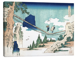Canvas  Minister Toru, from the series Poems of China and Japan - Katsushika Hokusai